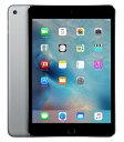 【中古】【安心保証】 SIMフリー iPadmini4[16G] グレイ