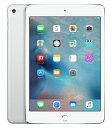 【中古】【安心保証】 SIMフリー iPadmini4[64G] シルバー