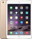 【マラソン中★最大36倍】【中古】【安心保証】 iPadmini3[WiFi 128] ゴールド