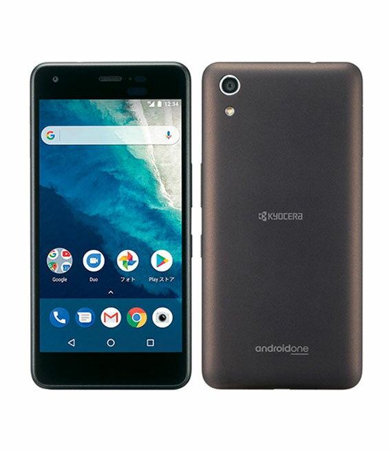 【中古】【安心保証】 Y!mobile Android One S4 ブラウンブラック