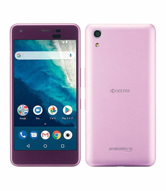 【中古】【安心保証】 Y!mobile Android One S4 ピンク