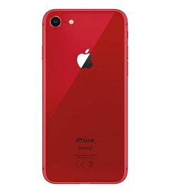 【中古】【安心保証】 iPhone8[256GB] docomo MRT02J レッド