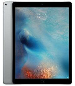 【中古】【安心保証】 docomo iPadPro 1ー12.9[セルラー128G] グレイ