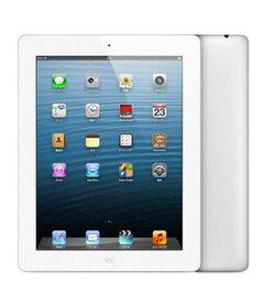 【中古】【安心保証】 au iPadRetina 4[セルラー128G] ホワイト