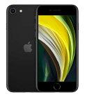 【中古】【安心保証】 au iPhoneSE 2[64G] ブラック