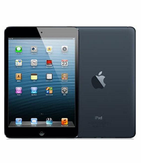 【中古】【安心保証】 au iPadmini1[セルラー16G] ブラック