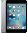 【中古】【安心保証】 SoftBank iPadmini-7.9_4[セルラー128G] グレイ