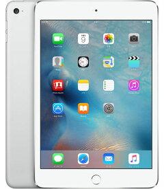 【中古】【安心保証】 SoftBank iPadmini4[セルラー16G] シルバー