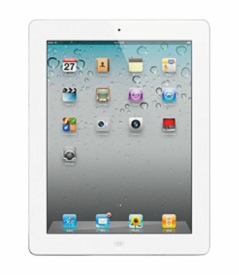 【中古】【安心保証】 SoftBank iPad2[3G 32GB] ホワイト
