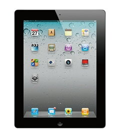 【中古】【安心保証】 iPad2[WiFi 64G] ブラック
