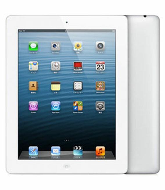 【中古】【安心保証】 iPadRetina_4[WiFi64GB] ホワイト