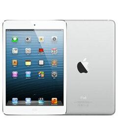 【中古】【安心保証】 iPadmini 7.9インチ 第1世代[16GB] セルラー SoftBank ホワイト&シルバー