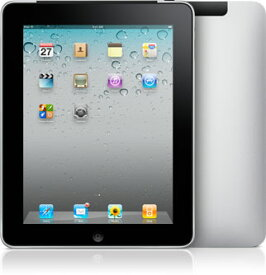 【中古】【安心保証】 SoftBank iPad1[3G 64G] ブラック