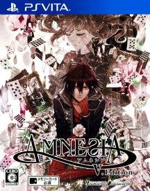 【中古】AMNESIA V Editionソフト:PSVitaソフト/恋愛青春 乙女・ゲーム
