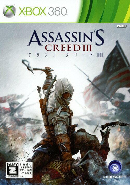 【中古】【18歳以上対象】アサシン クリード3ソフト:Xbox360ソフト/アクション・ゲーム