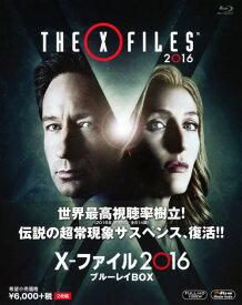 【中古】X−ファイル 2016 BOX 【ブルーレイ】/デイビッド・ドゥカブニーブルーレイ/海外TVドラマ