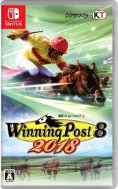 【中古】Winning Post8 2018ソフト:ニンテンドーSwitchソフト/スポーツ・ゲーム