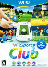 【中古】Wii Sports Clubソフト:WiiUソフト/スポーツ・ゲーム