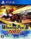 【中古】Winning Post8 2016ソフト:プレイステーション4ソフト/スポーツ・ゲーム