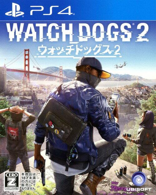 【中古】【18歳以上対象】ウォッチドッグス2ソフト:プレイステーション4ソフト/アクション・ゲーム