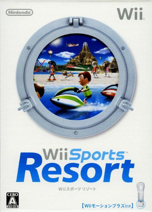 【中古】Wii Sports Resort (同梱版)ソフト:Wiiソフト/スポーツ・ゲーム