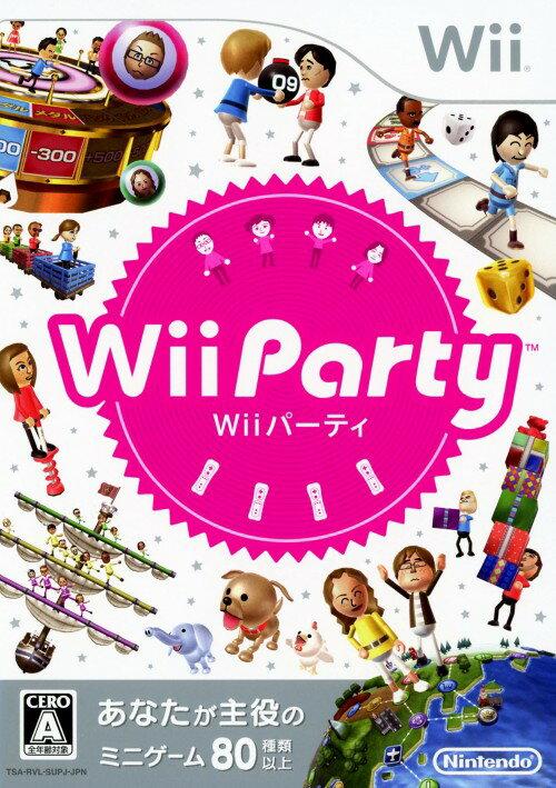 【中古】Wii Partyソフト:Wiiソフト/パーティ・ゲーム