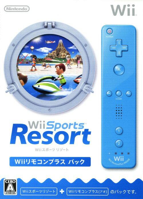 【マラソン中最大P28倍】【SOY受賞】【中古】Wii Sports Resort Wiiリモコンプラスパック (同梱版)ソフト:Wiiソフト/スポーツ・ゲーム