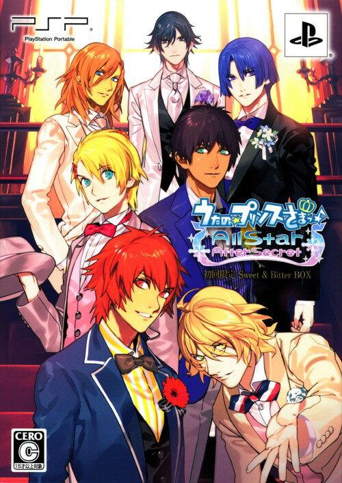【中古】うたの☆プリンスさまっ♪ All Star After Secret Sweet&Bitter BOX (限定版)ソフト:PSPソフト/恋愛青春 乙女・ゲーム