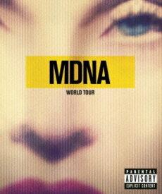 【中古】マドンナ/MDNA ワールド・ツアー 【ブルーレイ】/マドンナブルーレイ/映像その他音楽