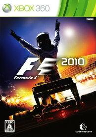 【中古】F1 2010ソフト:Xbox360ソフト/スポーツ・ゲーム