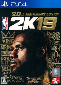 【中古】NBA 2K19 20周年記念エディション (限定版)ソフト:プレイステーション4ソフト/スポーツ・ゲーム