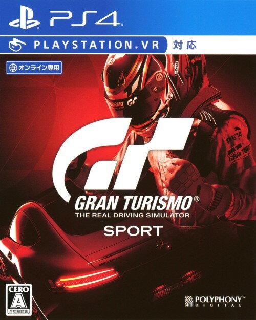 【中古】グランツーリスモSPORTソフト:プレイステーション4ソフト/スポーツ・ゲーム