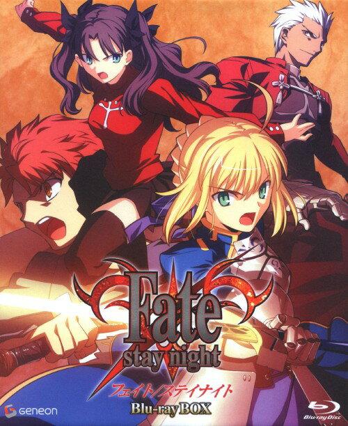 【中古】期限)Fate/stay night BOX 【ブルーレイ】/杉山紀彰