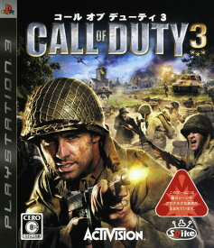 【中古】Call of Duty3ソフト:プレイステーション3ソフト/シューティング・ゲーム