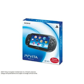 【中古・箱説あり・付属品あり・傷あり】PlayStation Vita 3G/Wi−Fiモデル PCH−1100AA01 クリスタル・ブラック (初回版)PSVita ゲーム機本体
