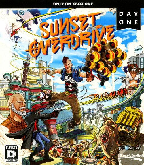 【中古】Sunset Overdrive Day Oneエディション (初回版)ソフト:XboxOneソフト/アクション・ゲーム