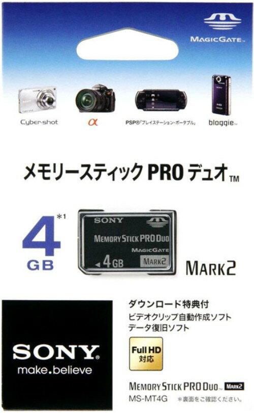 【マラソン中最大P28倍】【SOY受賞】【中古】ソニー/メモリースティックPRO Duo MARK2 4GB周辺機器(メーカー純正)ソフト/その他・ゲーム