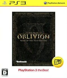 【中古】The Elder Scrolls4:オブリビオン Game of the Year Edition PlayStation3 the Bestソフト:プレイステーション3ソフト/ロールプレイング・ゲーム