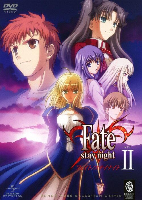 【中古】Fate/stay night SET2 <期間限定生産版>/杉山紀彰DVD/OVA