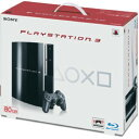 【中古・箱無・説明書有】PlayStation3 HDD 80GB CECH−L00 クリアブラック