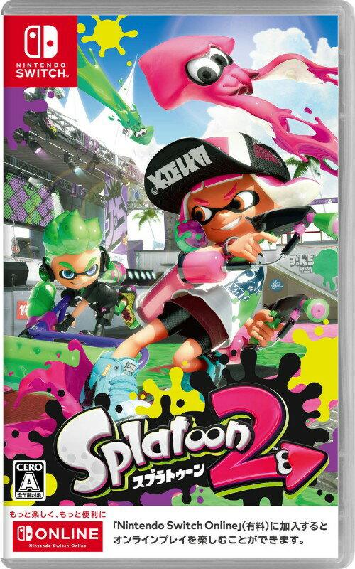 【中古】Splatoon 2ソフト:ニンテンドーSwitchソフト/任天堂キャラクター・ゲーム