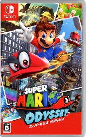 【中古】スーパーマリオ オデッセイソフト:ニンテンドーSwitchソフト/任天堂キャラクター・ゲーム