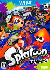 【中古】Splatoon(スプラトゥーン)ソフト:WiiUソフト/任天堂キャラクター・ゲーム