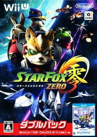 【中古】『スターフォックス ゼロ・スターフォックス ガード』ダブルパックソフト:WiiUソフト/シューティング・ゲーム