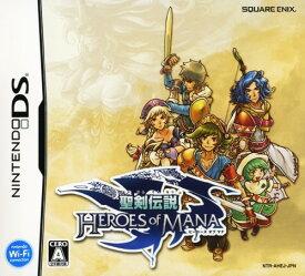 【中古】聖剣伝説 ヒーローズ オブ マナソフト:ニンテンドーDSソフト/シミュレーション・ゲーム
