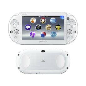 【中古・箱説あり・付属品あり・傷なし】PlayStation Vita Wi−Fiモデル PCH−2000ZA12 ホワイトPSVita ゲーム機本体