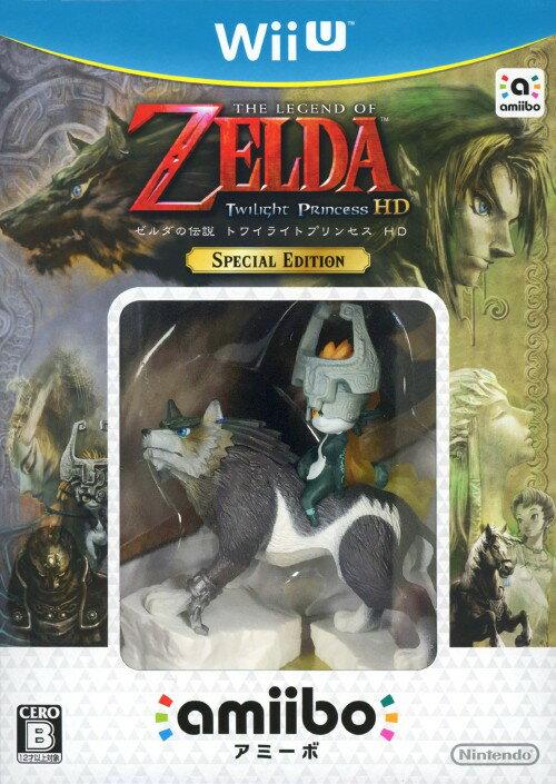 【中古】ゼルダの伝説 トワイライトプリンセス HD SPECIAL EDITION (同梱版)ソフト:WiiUソフト/任天堂キャラクター・ゲーム
