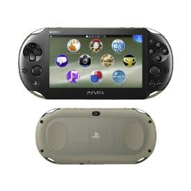 【中古・箱説なし・付属品なし・傷なし】PlayStation Vita Wi−Fiモデル PCH−2000ZA16 カーキ/ブラックPSVita ゲーム機本体