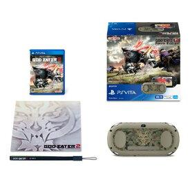 【中古・箱説なし・付属品なし・傷なし】PlayStation Vita × GOD EATER 2 Fenrir Edition (同梱版)PSVita ゲーム機本体