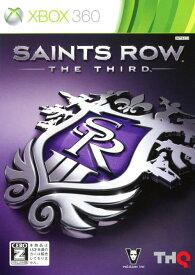 【中古】【18歳以上対象】Saints Row THE THIRDソフト:Xbox360ソフト/アクション・ゲーム